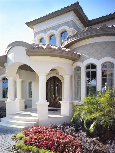 mediterranean luxury homes the custom home mediterranean entry ta by alvarez homes