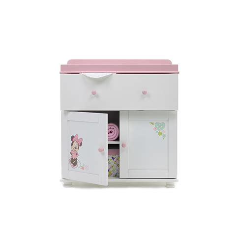 Commode Minnie commode disney minnie obaby 26db0306 poussette berceau