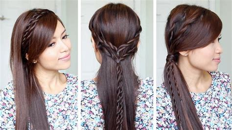 Hairstyles For School Bebexo | youtuber bebexo shows you how to twist up three easy