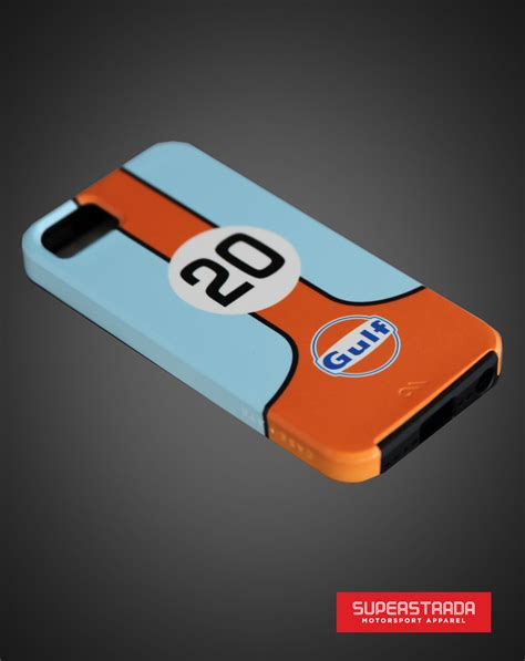 Casing Iphone X Team Instinct Blue Hardcase Custom Cover gulf racing iphone5 bumper classic livery