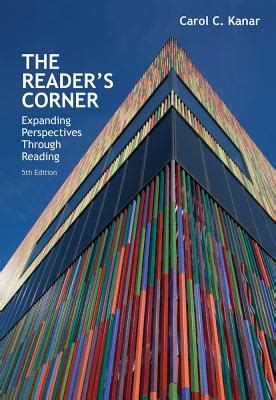 the reader s corner expanding perspectives through reading 5th edition rent 9781285430447