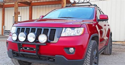2011 Jeep Grand Road Accessories Rocky Road Outfitters Custom Winch Mount With