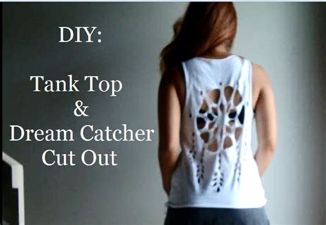 How To Make A T Shirt Out Of Paper - diy how to cut a t shirt into a tank top catcher