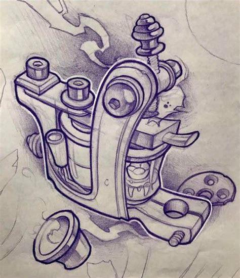 tattoo stencil machine resultado de imagen para dise 241 o de dibujo de maquina de