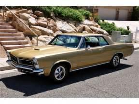 65 Pontiac Gto For Sale 65 Pontiac Gto Tri Power 4 Spd Tiger Gold Museum Pc
