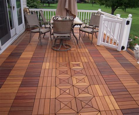 Deck Tiles by Ipe Wood Porch Flooring