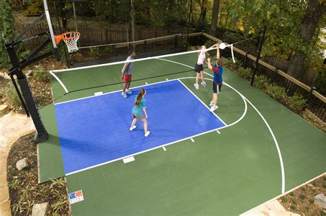 backyard volleyball court give your family the ultimate holiday gift a backyard