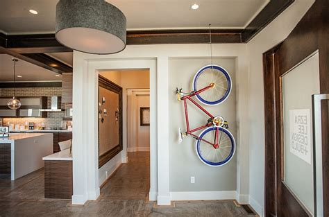 Best Paint Color For Dining Room Creative Bike Storage Amp Display Ideas For Small Spaces