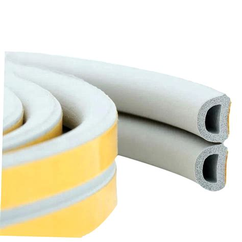 12m foam draught excluder d type seal insulation for