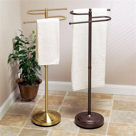 countertop towel holder in bathroom the homy design