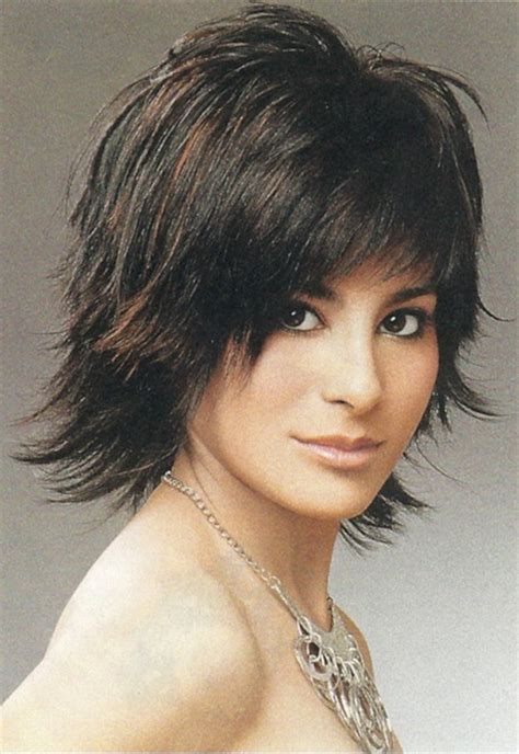 layered shag haircut medium length shaggy haircuts for