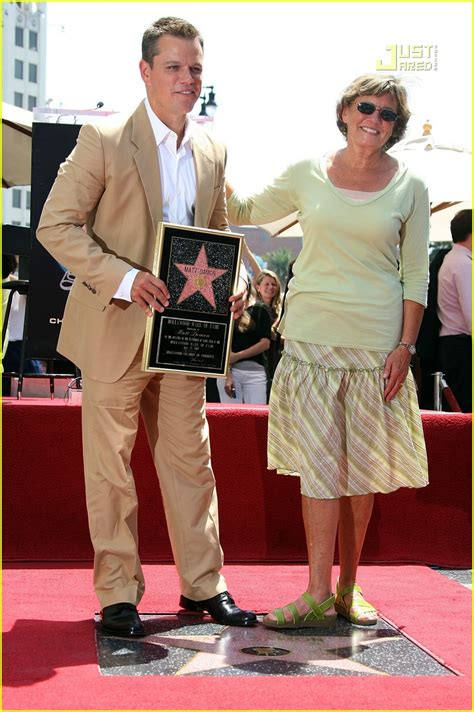 Matt Damon Gets His Walk Of Fame by Matt Damon Gets Walk Of Fame Photo 505861