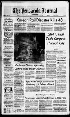 Pensacola News Journal from Pensacola, Florida on November
