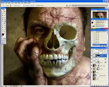 zombie tutorial using photoshop halloween photoshop tutorial creating zombie 171 digital