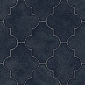 Persian tile flooring   in a resilient sheet   Retro
