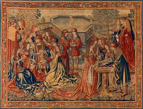 Le Tapisserie by Le Jardin D Amour Vers 1510 Tapisserie Bruxelloise Au
