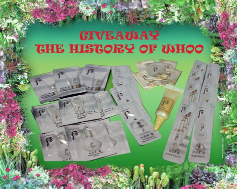 Whoo Seol Whitening Gift Set Isi 3 giveaway the history of whoo just lovely skincare