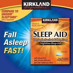 Costco kirkland signature sleep aid 25 mg customer reviews