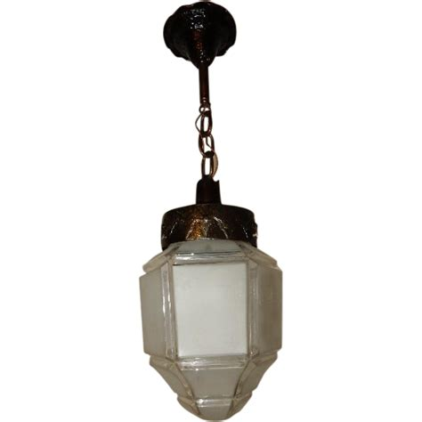 Craftsman Pendant Lighting Craftsman Arts Crafts Pendant Lighting Fixture W Large Shade From Midwestern L Connection