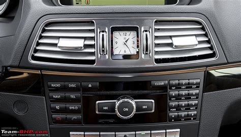 mercedes dashboard clock exotic dash clocks page 2 team bhp