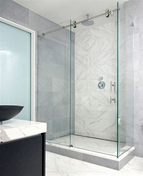 modern bathroom door sliding door shower enclosures for the contemporary