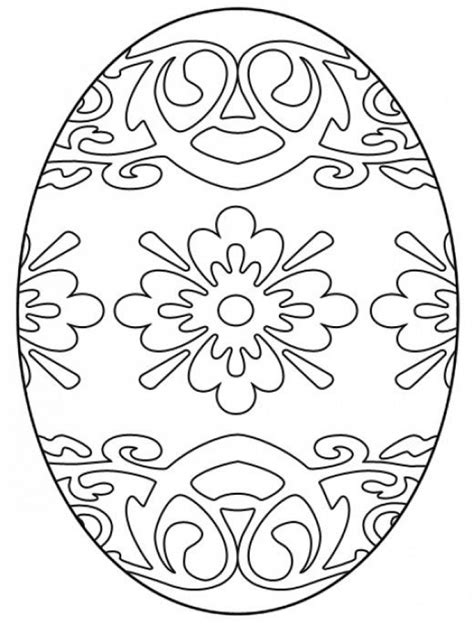 easter egg hard coloring pages  adults
