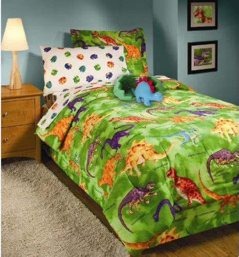 Dinosaur Bed Sets Crayola Dinosaur Comforter Sheet Set 6 Bed In A Bag Bed Sheets
