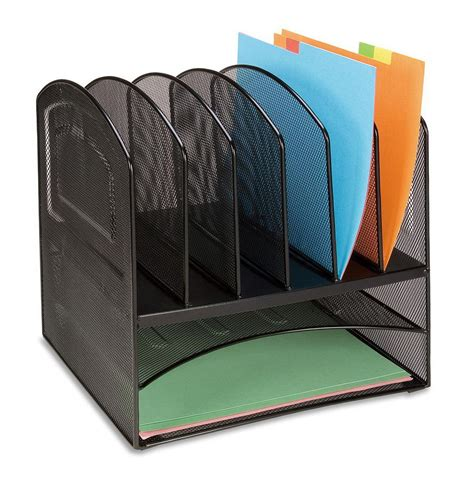 Desk Vertical Paper Organizer Home Design Ideas Paper Desk Organizer