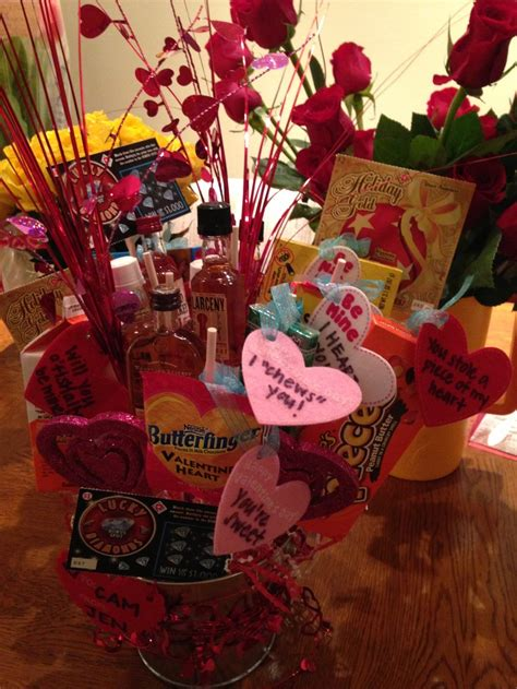 valentines day ideas for boyfriend cute valentines day gift for boyfriend a man bouquet