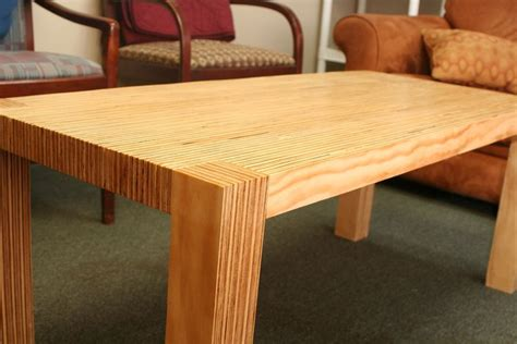 modern plywood coffee table by grayhooten lumberjocks