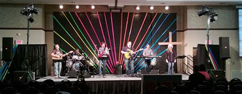 colorful duct colorful duct church stage design ideas