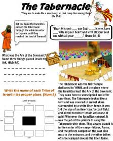free bible worksheet tabernacle in the wilderness