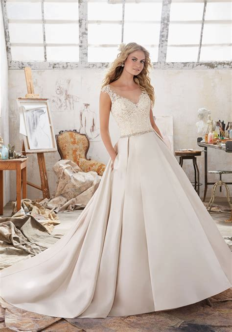 Bridal Gowns by Maclaine Wedding Dress Style 8103 Morilee