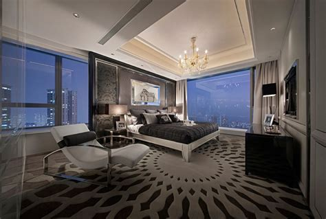 luxury master bedroom synergistic modern spaces by steve leung