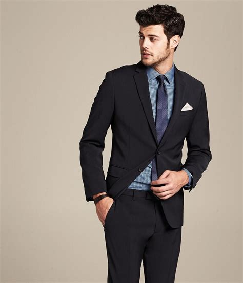 2015 new arrival suit black formal wear for