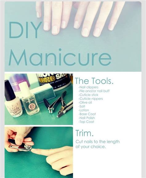 Steps To A Diy Manicure by Diy Manicure A Step By Step Tutorial Musely