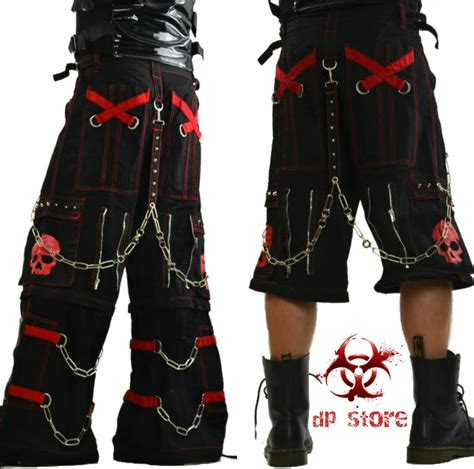 Duvet Covers Nyc Tripp Skull Spike Gothic Biker Shorts Emo Rave