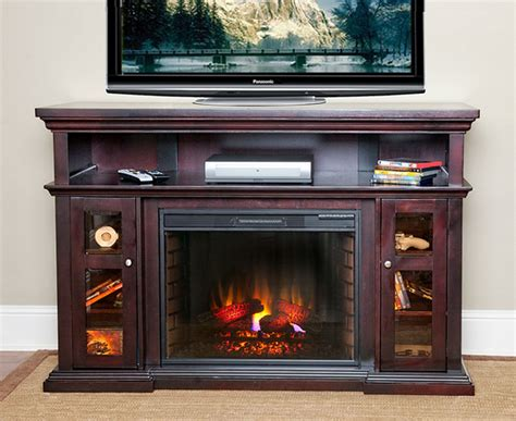 60 electric fireplace 60 quot pasadena espresso electric fireplace entertainment center 28mm468 e721