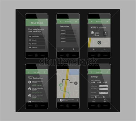layout template mobile 40 awesome mobile app designs with great ui experience