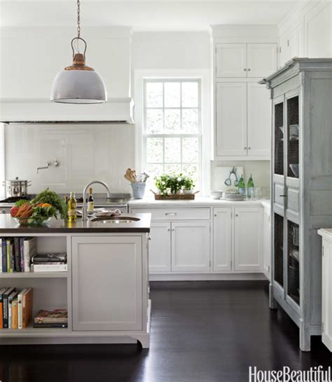 Antique Grey Kitchen Cabinets Chicken Wire Cabinet Doors Transitional Kitchen House Beautiful