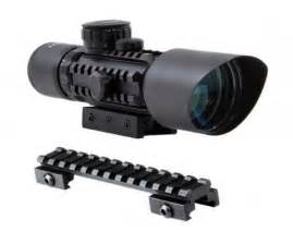 Teropong M9 3 10x42 Refile Scope m9 3 10x42 mil dot compact rifle scope nitrogen filled fully multi coated shockproof