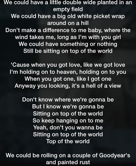 best song in the world tim mcgraw top of the world this is us you