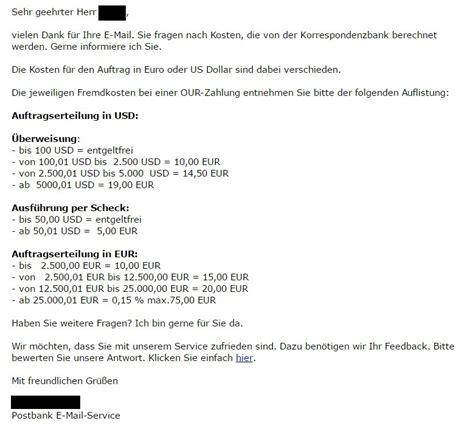 deutsche bank wechselkurs auslands 252 berweisungen dauer kosten wechselkurs