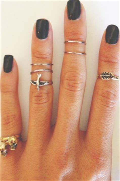 5 Rings For Your Pretty Fingers by Trend Alert Mid Finger Rings Fit For Fashion