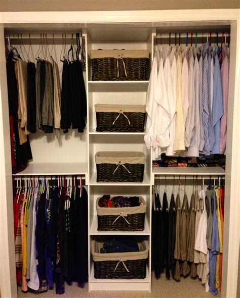 Simple Closets by White Simple Closet Organizer Diy Projects