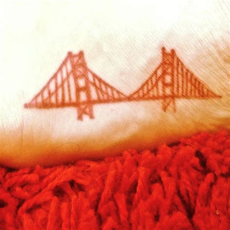 bridge tattoo golden gate bridge on my foot tattoos