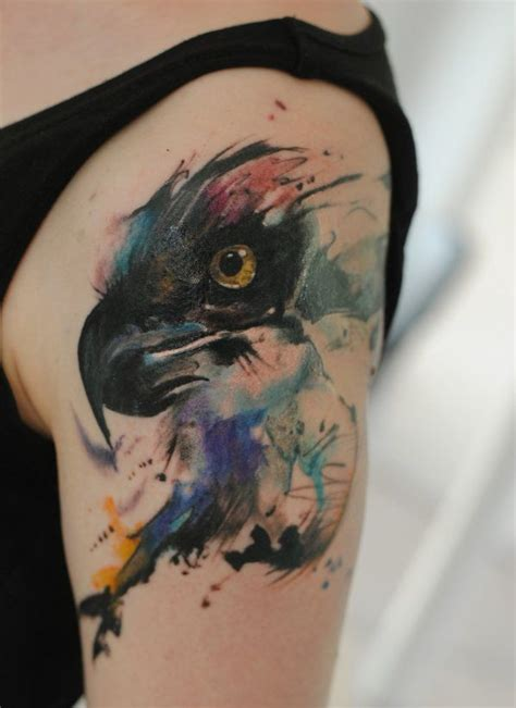 watercolor tattoo eagle millions of eagle tattoos