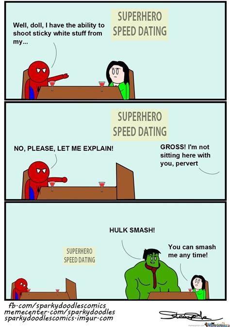 Speed Dating Meme - sparky doodles superhero speed dating by sparkydoodles