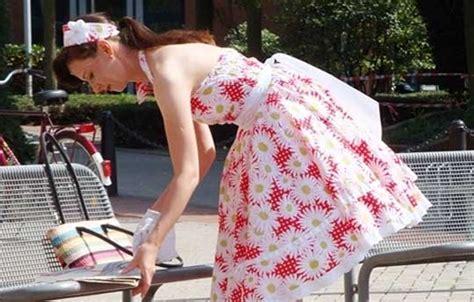 free pattern rockabilly dress sewing vintage fangirl
