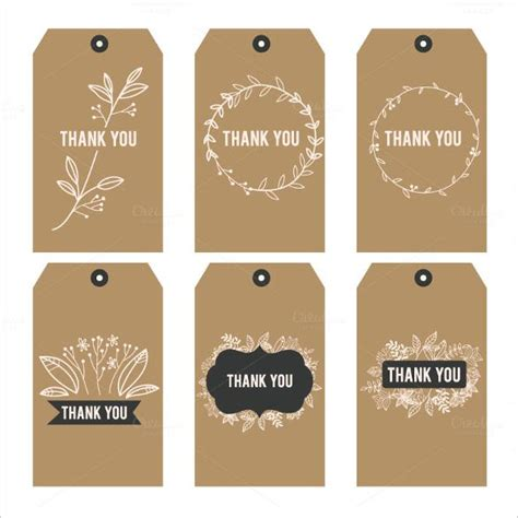 Favor Cards Template by Free Printable Thank You Stickers Hese Vintage Thank You